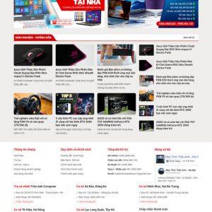 Theme Wordpress bán hàng Máy Tính, Máy In, Sửa chữa M204 hình 5