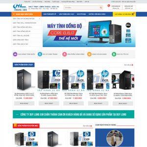 Theme Wordpress bán hàng Máy Tính PC, CPU M201 hình 2