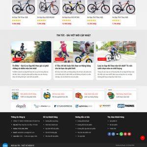 Theme Wordpress bán Xe Đạp M205 hình 5