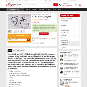 Theme Wordpress bán Xe Đạp M205 hình 3