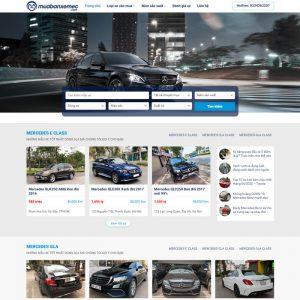 Theme Wordpress mua bán Ô Tô xe hơi cũ M200 hình 2