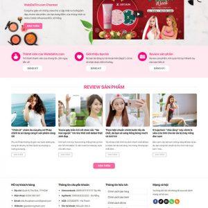 Theme Wordpress bán hàng Mỹ Phẩm Mẫu 15 hình 3