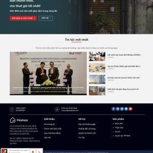 Theme Wordpress Bất Động Sản Cao Cấp Mẫu 999 hình 4