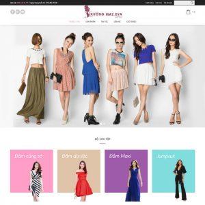 Theme Wordpress bán hàng Thời Trang Nữ M215