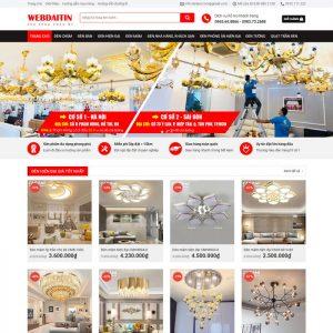 Theme Wordpress bán Đèn Trang Trí M222 hình 2
