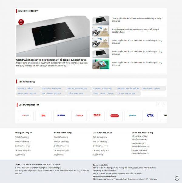Theme Wordpress bán hàng Đồ Gia Dụng, Bếp M223 hình 3