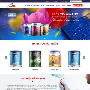 Theme Wordpress Công Ty Bán Sơn M226 hình 2