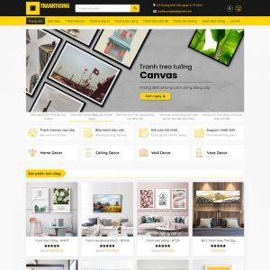 Theme Wordpress bán Tranh Treo Tường M221 hình 2