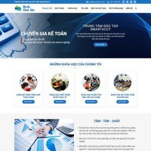 Theme Wordpress giáo dục đào tạo Mẫu số 4 hình 2