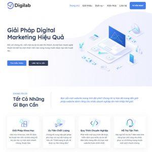 Theme Wordpress Dịch Vụ Digital Marketing hình 2